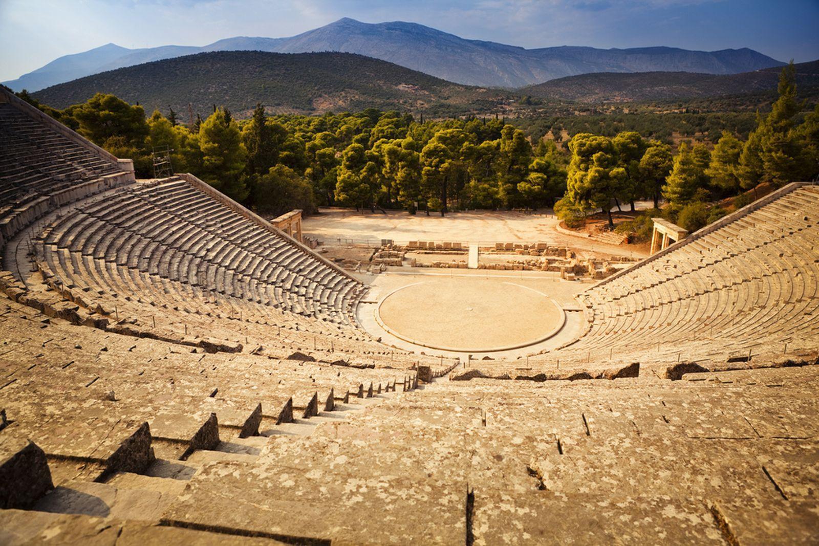 Ancient Epidaurus Theatre : poseidonion.com